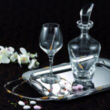 Wedding Trays, Glasses and Wedding Sets